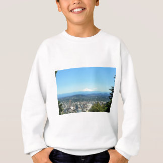 Stadt-Ansicht Portlands, Oregon, Sweatshirt