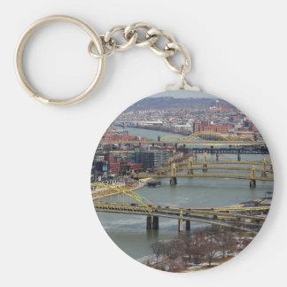 Stadt der Brücken Schlüsselanhänger