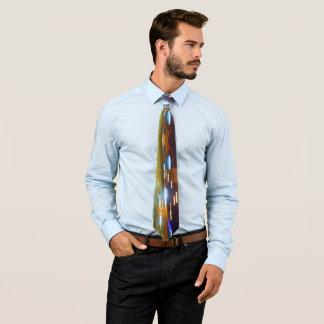 Stadt-Lichter Personalisierte Krawatte