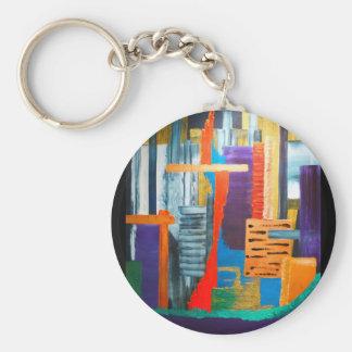 Stadt-Lichter Schlüsselanhänger