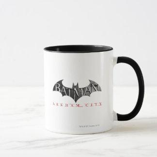 Stadt-Logo Batmans Arkham Tasse