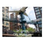 Stadt-Museums-Flugzeug, Museum St. LouisCity Postkarten