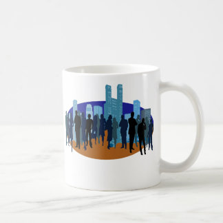 Stadt-Thema Tasse