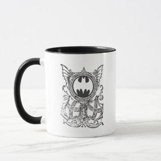 Städtische Legenden-Schwarz-weißes Logo des Tasse