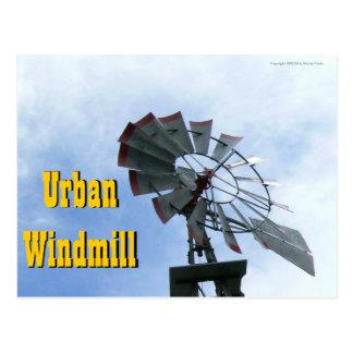 Städtische Windmühle Postkarte