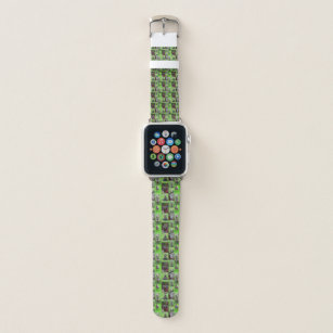 Staffordshire Bull Terrier Foto Collage, Apple Watch Armband