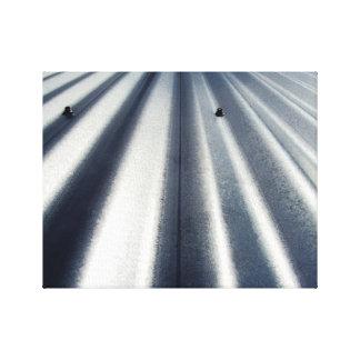 Stahlpole-Scheunen-rustikales Land-industrielle Leinwanddruck