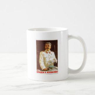 Stalin-Plakatkunst Kaffeetasse