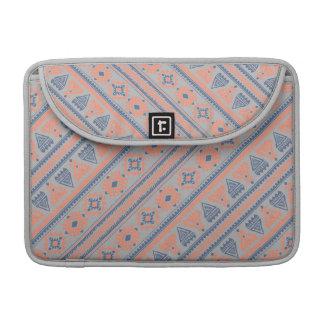 Stammes- graues ethnisches Muster Macbook Prohülse MacBook Pro Sleeve