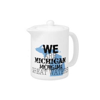 Stammes- großes Wasser Michigans Michigama Up