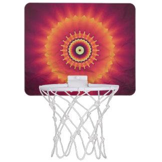 Stammes- Kaleidoskop-Basketball-Ziel Mini Basketball Netz
