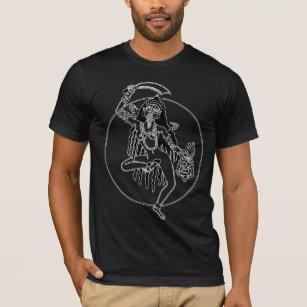 Stammes- Kali T - Shirt - Dunkelheit