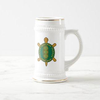 Stammes- Schildkröte Bierglas