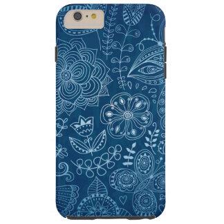 Standard der Blumen und der Vögel stark Tough iPhone 6 Plus Hülle
