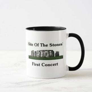 Standort des ersten Konzerts der Steine Tasse