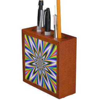 Stangen-Punkt-Stern-Schreibtisch-Organisator Stifthalter