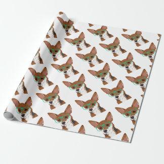 Stanley die Chihuahuamischung Geschenkpapier