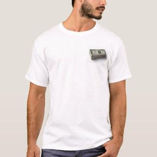 Stapel Rechnungen US $1.000 T-Shirt