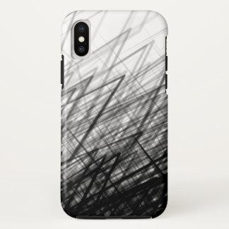 Staplungskreuzschraffieren - iPhone/iPad Fall iPhone X Hülle