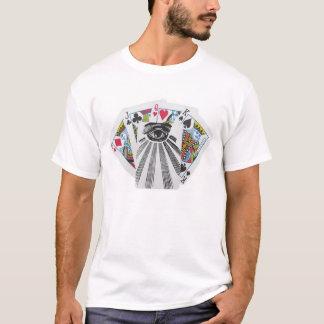 Staplungsplattform Illuminati T - Shirt alles