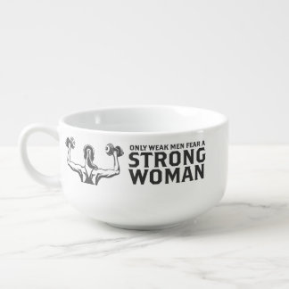 Starke Frauen-Suppen-Tasse Große Suppentasse