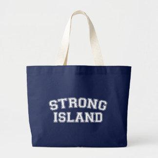 Starke Insel, NYC, USA Jumbo Stoffbeutel