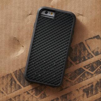 Starke Kohlenstoff-Faser-Luxusbeschaffenheit Tough Xtreme iPhone 6 Hülle