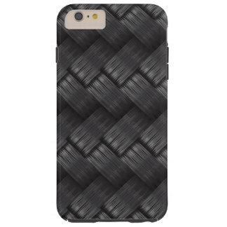 Starke Kohlenstoff-Faser-Webart-Beschaffenheit Tough iPhone 6 Plus Hülle