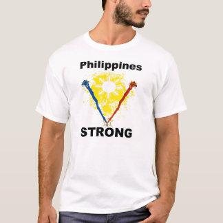 """Starke """"Unterstützung Philippinen die Philippinen T-Shirt"""