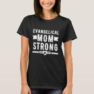 Starker Frauen der evangelischen Mammas grafisch T-Shirt