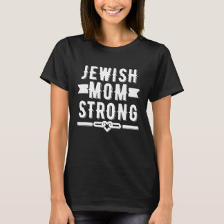 Starker Frauen der jüdischen Mammas grafisch T-Shirt