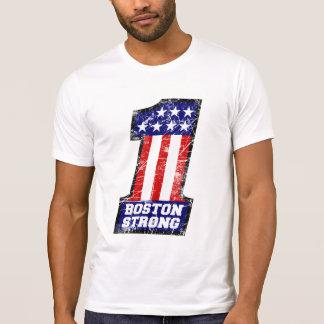 Starkes Boston SIND WIR EINE Schmutz-Art T-Shirt