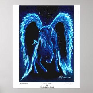 Starlit Stroll-Pegasus-Plakat Poster