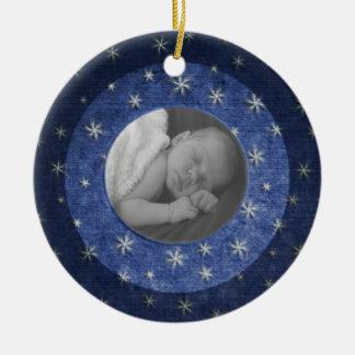 Starry NachtFoto-Andenken Keramik Ornament