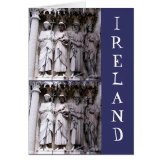 Statuen des Korkens, Irland Grußkarte