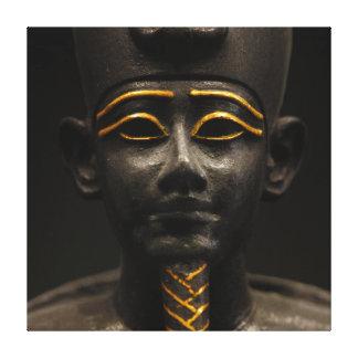Statuette des später Zeitraum-ägyptischen Gottes O Gespannte Galeriedrucke