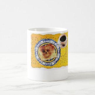 Staubtrockener Toast Tasse
