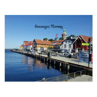 Stavanger, Norwegen Postkarte