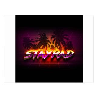 StayRad 80er Postkarte