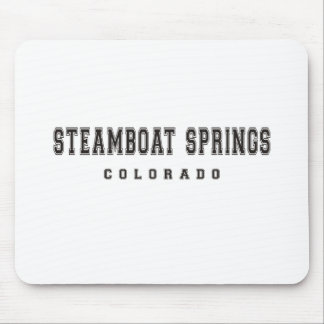 Steamboat Springs Colorado Mauspads