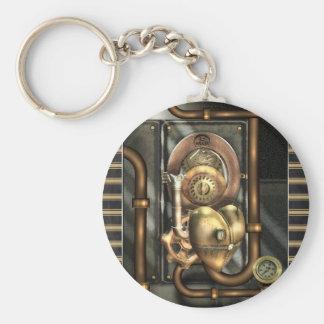Steampunk am Herzen Schlüsselanhänger