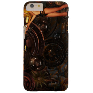 Steampunk Art-Fall Barely There iPhone 6 Plus Hülle