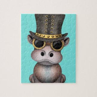 Steampunk Baby-Flusspferd Puzzle