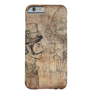 Steampunk Gangentwürfe Barely There iPhone 6 Hülle