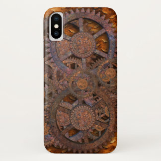 Steampunk iPhone X Hülle