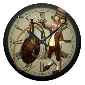 Steampunk Penny-Farthing Uhren