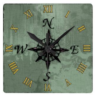 Steampunk Vintage alte Kompass-Rose Uhren