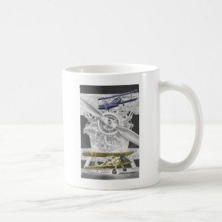 Stearman Doppeldecker Kaffeetasse
