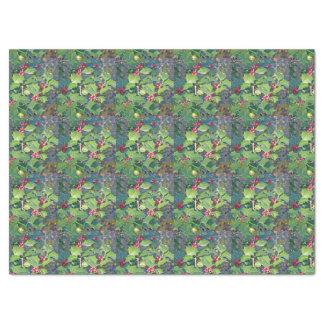 Stechpalme berrie, Natur Seidenpapier