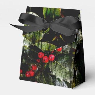 Stechpalmen-Beeren-Geschenkboxen Geschenkschachtel